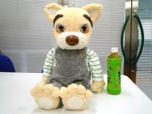 パペットハウス 犬の腹話術人形(作:川口 新)