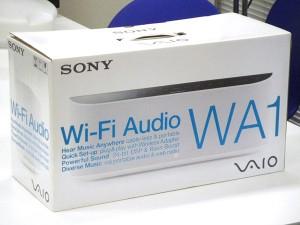SONY Wi-Fiオーディオ VGF-WA1